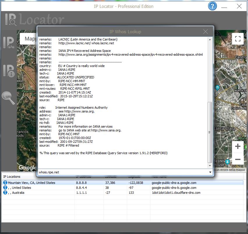 Donwload IP Locator